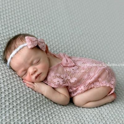 Photographing Baby doll